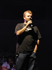 Phote of Mark Hall of Casting Crowns