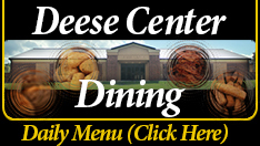 Lake Vista Dining Menu