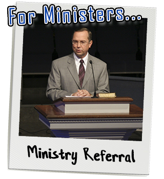 Link to submit a ministry referral form